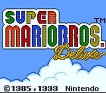 PGC/NWR 10th Anniversary: Super Mario Bros. Deluxe Title Screen