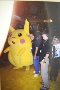 PGC/NWR 10th Anniversary: Lindy with Pikachu at E3 1999