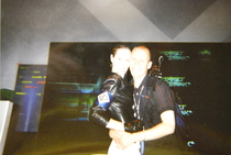 PGC/NWR 10th Anniversary: Lindy with brunette Perfect Dark girl at E3 1999