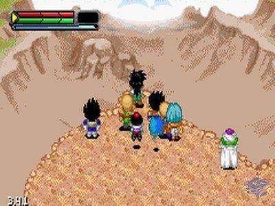dragon ball z the legacy of goku gameboy advance