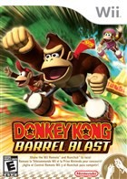Donkey Kong Barrel Blast Box Art