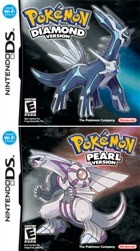 Pokémon: Diamond & Pearl Box Art