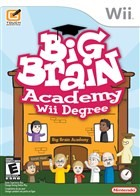 Big Brain Academy for Wii Box Art