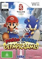 Mario & Sonic in the Beijing Olympics Box Art