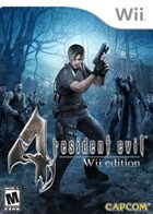 Resident Evil 4: Wii Edition Box Art