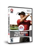 Tiger Woods PGA Tour '08 Box Art