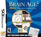 More Brain Training from Dr Kawashima: How Old Is Your Brain? Box Art