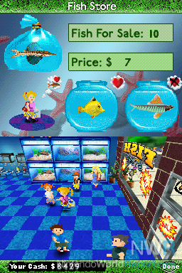 fish tycoon game nintendo world report