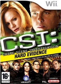 CSI: Crime Scene Investigation: Hard Evidence Box Art