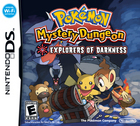 Pokémon Mystery Dungeon: Explorers of Darkness & Explorers of Time Box Art