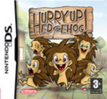 Hurry Up Hedgehog! Box Art