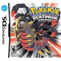 Pokémon Platinum Box Art
