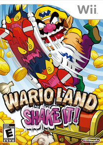 Wario Land Shake Box Art