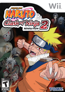 Naruto Clash of Ninja Revolution 2 European Version Box Art