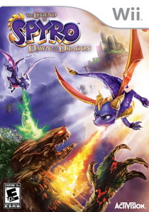 The Legend of Spyro: Dawn of the Dragon Box Art