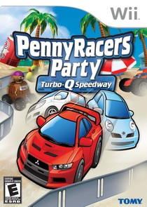 Penny Racers Party: Turbo-Q Speedway Box Art