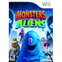 Monsters vs. Aliens Box Art
