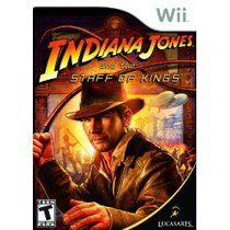 Indiana Jones and the Staff of Kings Box Art