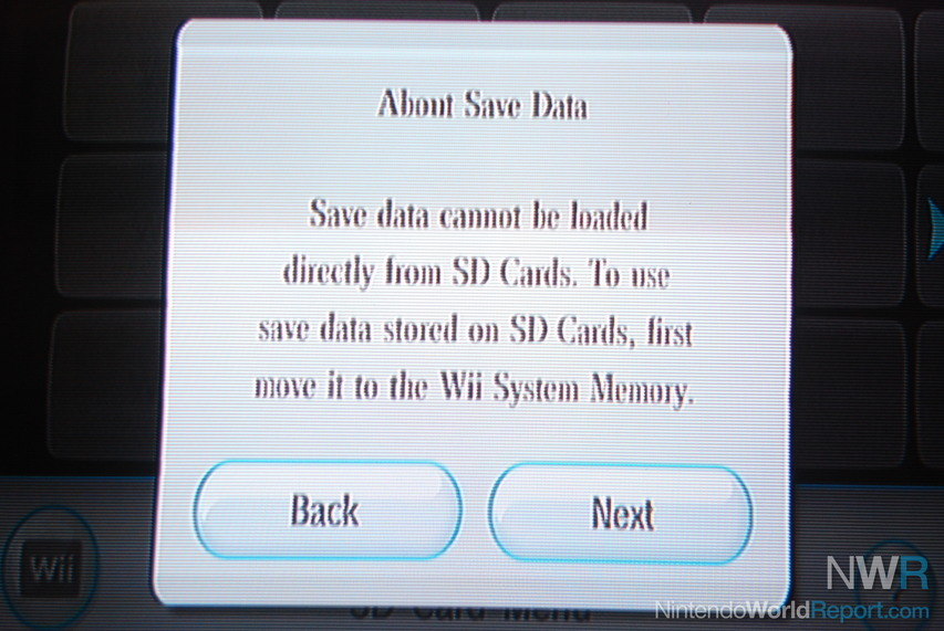 The Wii SD Card Menu: A Walkthrough - News - Nintendo World Report