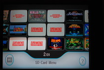Game Developers Conference 2009: Wii SD Card Menu - Full Menu