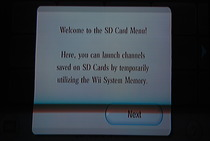 Game Developers Conference 2009: Wii SD Card Menu - Welcome Message