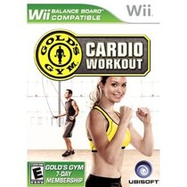 Gold's Gym Cardio Workout Box Art