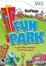Six Flags Fun Park Box Art