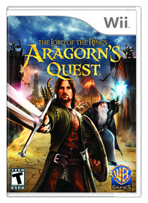 Lord of the Rings: Aragorn's Quest Box Art