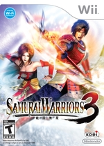 Samurai Warriors 3 Box Art