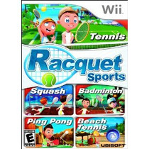 Racquet Sports Box Art