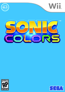 Sonic Colours Box Art