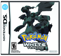 Pokémon Black and White Box Art