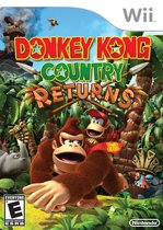 Donkey Kong Country Returns Box Art