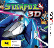 Star Fox 64 3D Box Art