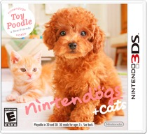 Nintendogs + Cats Box Art