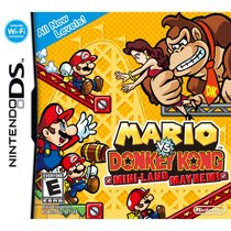 Mario vs. Donkey Kong: Mini-Land Mayhem! Box Art