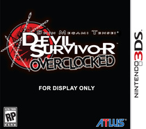 Shin Megami Tensei: Devil Survivor Overclocked Box Art