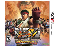 Super Street Fighter IV 3D Edition Box Art