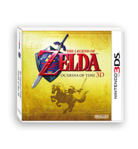 The Legend of Zelda: Ocarina of Time 3D Box Art