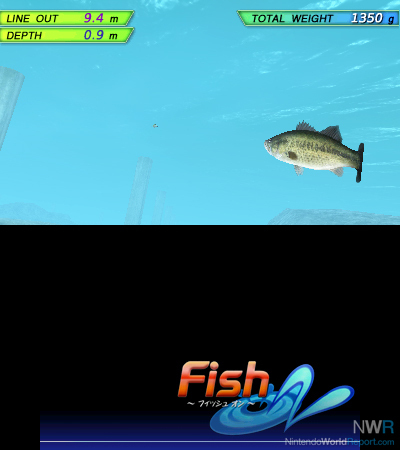 Fish on announced for 3ds news nintendo world report for Real fishing games