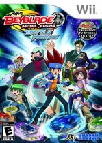 Metal Fight Beyblade: Gachinko Stadium Box Art