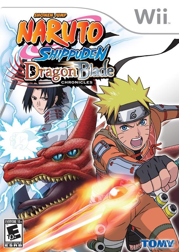 Naruto Shippuden Dragon Blade Chronicles Box Art