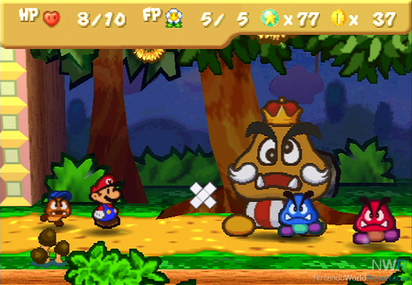 Paper Mario 64 Partners The Partners in Paper Mario
