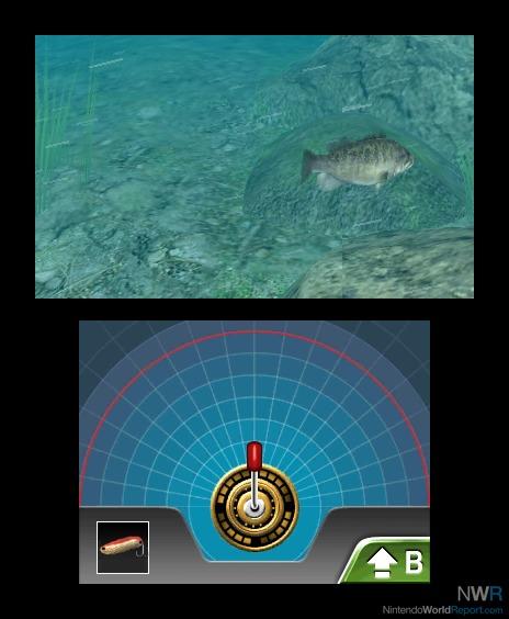 Reel fishing paradise 3d game nintendo world report for Reel fishing game
