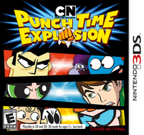 Cartoon Network Punch Time Explosion Box Art