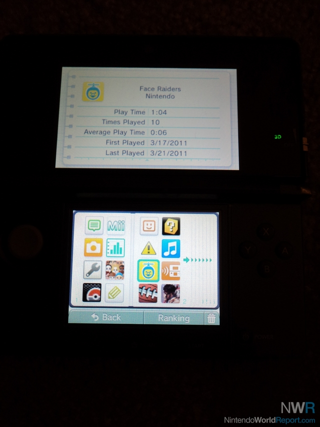 The 3DS Activity Log - Feature - Nintendo World Report