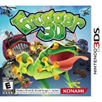 Frogger 3D Box Art