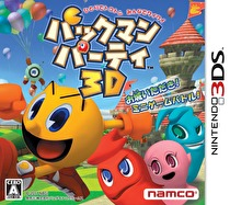 Pac-Man Party 3D Box Art