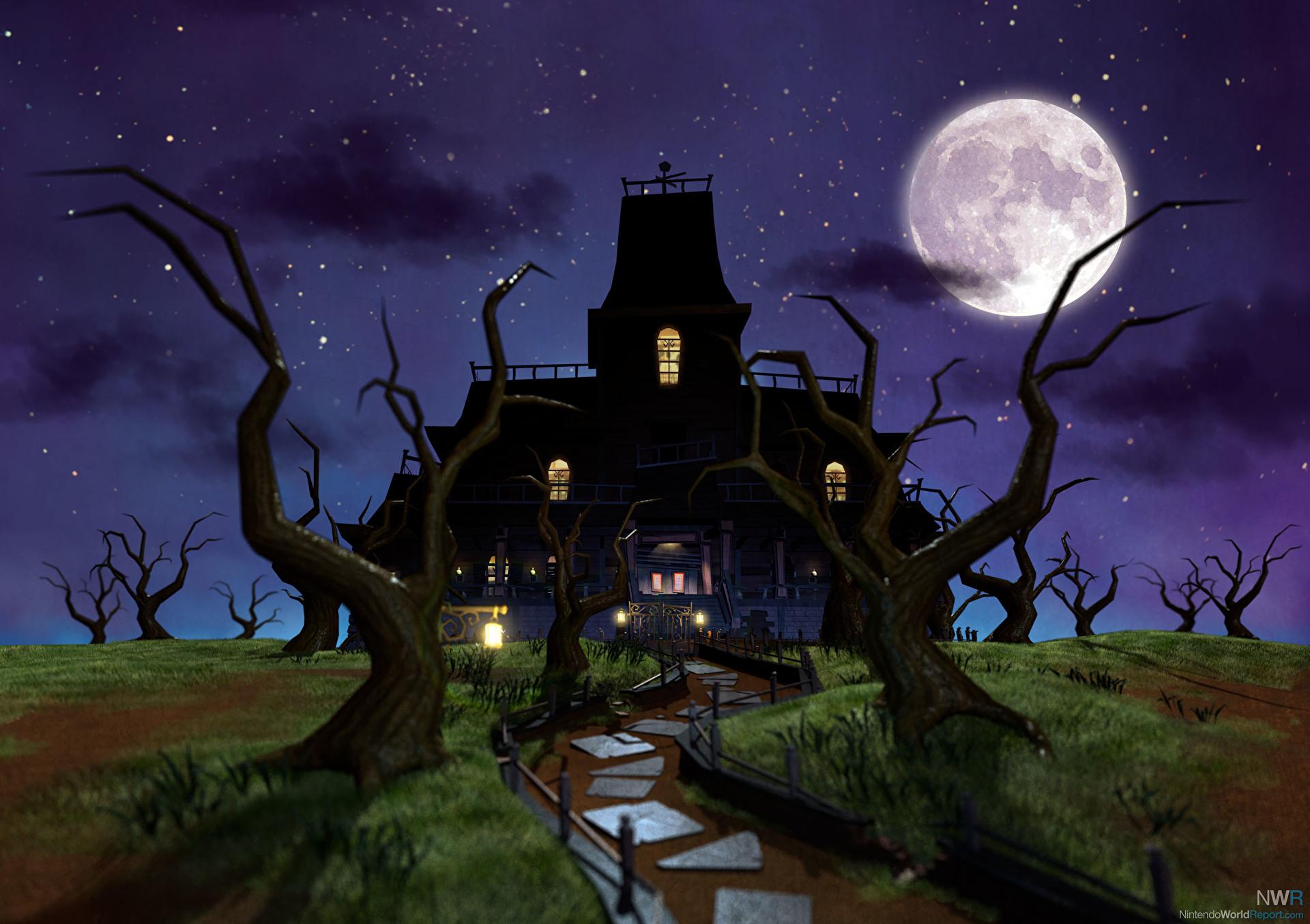 Luigi 39 s mansion dark moon feature nintendo world report for Dark house music