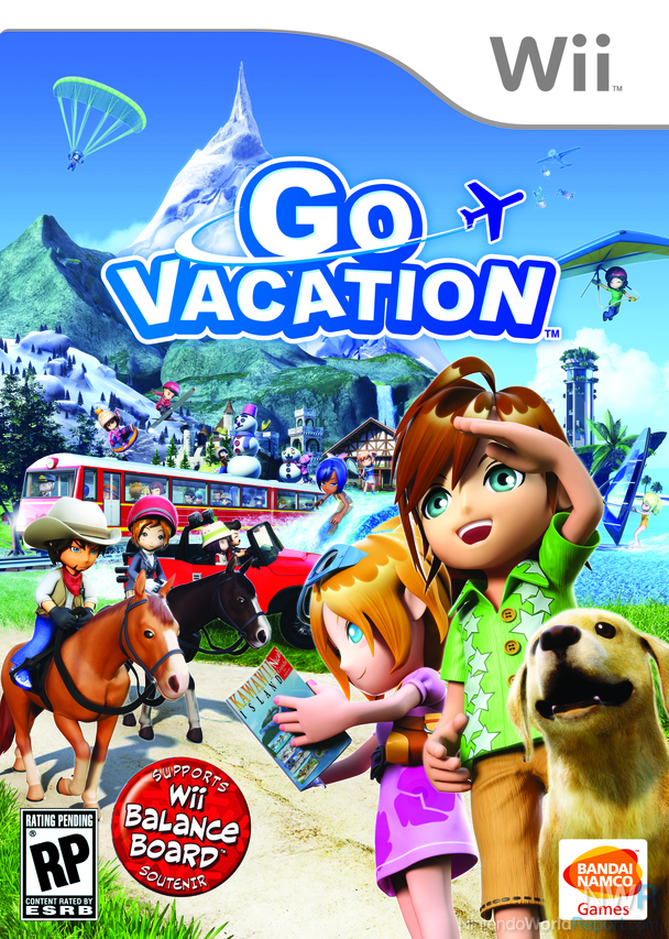 Go vacation game nintendo world report for Fishing resort wii